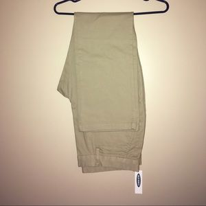 Straight Ultimate Built-In Flex Khakis NWT